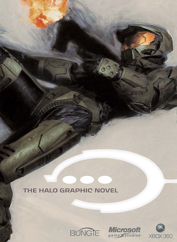 Halo: The Graphic Novel  by Written by Lee Hammock and others; Art by Simon Bisley and others