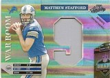 2009  Playoff Absolute Matthew Stafford War Room Patch # 21/25