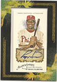 Ryan Howard 2008 Topps Allen & Ginter Autograph card