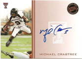 Michael Crabtree 2009 Press Pass Autograph